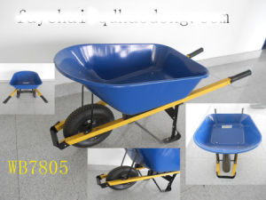 PU Foam Wheel, Good Quality Wheel Barrow (Wb7805p)