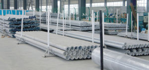 PSP Double-Sided Plastic-Lined Steel Pipe for Water Supply with The Pipeline Buried Under The Earth