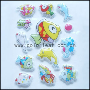 Fish Puffy Stickers (CY-PUFFYS002)