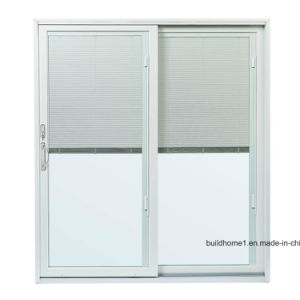 Solar Control Aluminium Sliding Patio Doors With Switchable Blinds