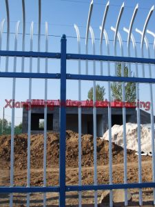 Powder Coated Steel Fence (XM-PF) pictures & photos