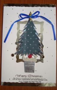3D Handmade Christmas Card (6601001)