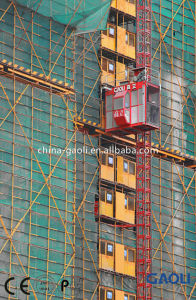 Sc Series Electric Frequency Conversion High Rise Building Hoist / Elevator / Lift pictures & photos