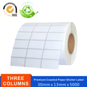 Adhesive Thermal Paper Coated Art Paper Label for Printer