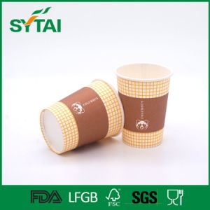 Wholesale Custom Flexo Printing Take Away Single Wall Paper Cups pictures & photos