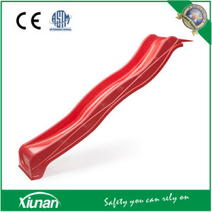 2.2m Red Wavy Slide for Swing Set pictures & photos