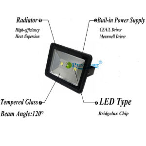200W Waterproof IP65 Outdoor Lighting 6000k Daylight White LED Flood Light pictures & photos