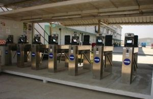 Tripod Turnstile Gate Access Control Project Image pictures & photos
