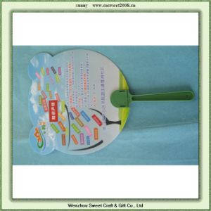 Cartoon Shape Promotion Plastic Hand Fan pictures & photos