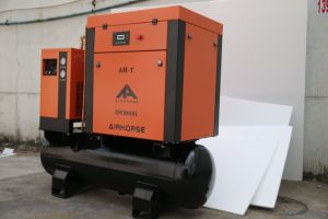 7.5kw 39cfm Combined Screw Air Compressor with Air Tank and Dryer pictures & photos