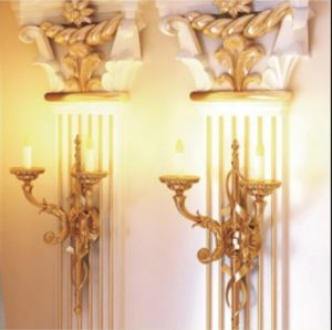 Polyurethane Fluted Wall Paneled Pilaster pictures & photos