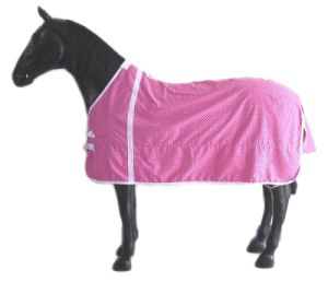 Pink Breathable Summer Polycotton Horse Rug pictures & photos