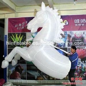 Magic Colorful Inflatable Horse/Inflatable Horse/LED Decoration/Art Designing