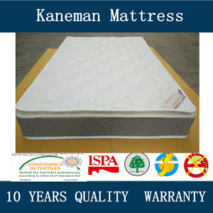 Pillow Top Compress Spring Mattress pictures & photos