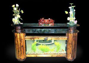 Ecological Bar Aquarium,Bar Counter Fish Tank (1600*470*1100mm, 1750*470*1100 mm, 1950*470*1100mm)