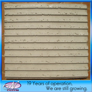 Acoustic Decorative Mineral Fiber Wool Drop Ceiling Tiles for School pictures & photos
