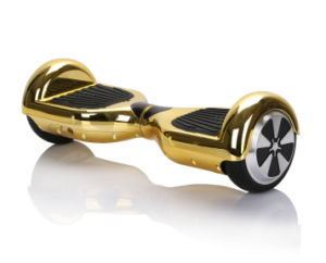 Customzied Plated Gold Colored Electric Scooter Balance Hoverboard pictures & photos
