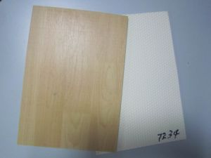 Wooden pattern PVC sports flooring pictures & photos