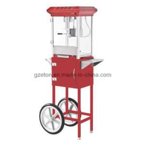 CE Approved 6oz Commercial Small Popcorn Machine with Cart pictures & photos