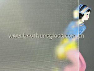 Clear Patterned Glass-Mistlite (BRG001)