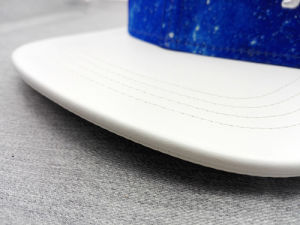 3D Embroidery Sublimation Hip-Hop PU Brim Cap (GD001) pictures & photos