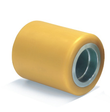 PU Roller with Steel Center