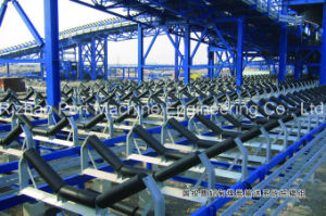 SPD Large Inclination Belt Conveyor, Conveyor System for Sea Port, Harbor pictures & photos
