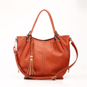 2015 Fashion Lady PU Leather Designer Handbag (MBNO037112) pictures & photos