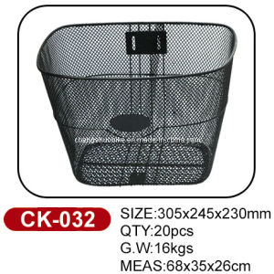 Hot Selling Iron Bike Basket Ck-032 pictures & photos