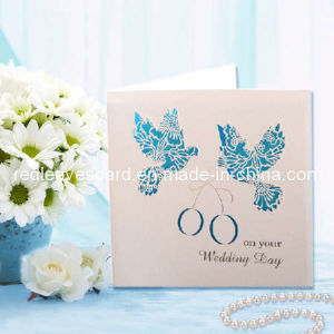 Hot 2011 Red Leaves Paper Wedding Celebration Card (WC03)
