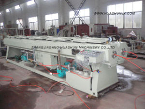 Dual Pipe Extrusion Line for PVC Pipe pictures & photos