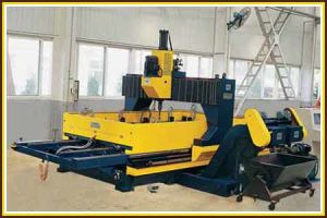 CNC Double-worktable Drilling Machine for Plates Model PD30B pictures & photos