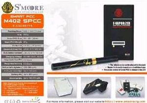 SMOORE M402 SPCC Electronic Cigarette
