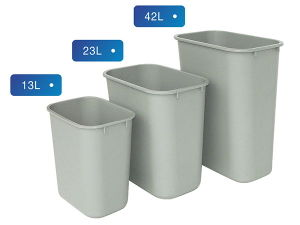 Square Plastic Dustbin for Small / Medium / Large pictures & photos