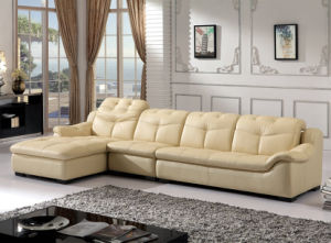Modern Home Furniture, L Shape Leather Sofa (B. 889) pictures & photos