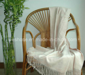 Bamboo Throw, Bamboo Blanket, Bamboo Fiber Throw Bt-F070330-Cream pictures & photos