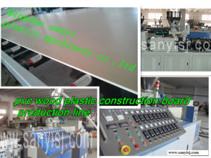 Wood Plastic Board Machine pictures & photos