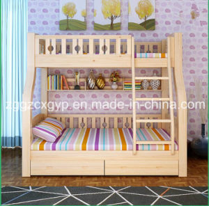 Wood Kids Bed/High Quality Wood Bed/Wood Kids Doulble Bed pictures & photos