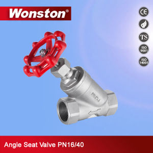 Angle Seat Valve Pn16/40 pictures & photos