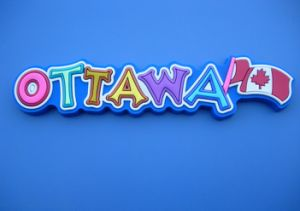 2016 Souvenir 3D Soft PVC Ottawa City Name Fridge Magnet pictures & photos