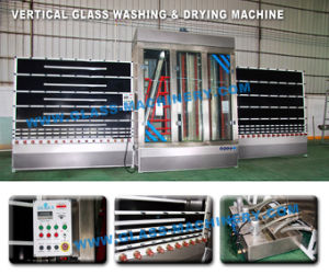CE Skw-2500V Glass Washing Machine for Washing & Drying pictures & photos
