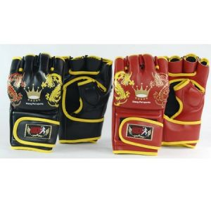Chinese Characteristic Boxing Glove Martial Arts Glove Free Size pictures & photos