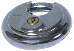 High Quality Stainless Steel Disc Padlock (SS-007) pictures & photos
