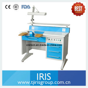 Dental Technician Table/ Dental Equipments Built-in-Vacuum