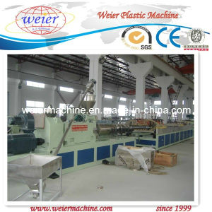 Wood-PVC WPC Door Panel Extrusion Machine (SJSZ-92/188) pictures & photos