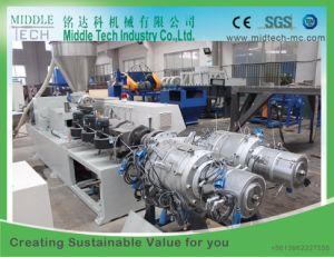 Plastic (110-315) PVC Electric/Electrical Conduit Pipe Extrusion Production Line pictures & photos