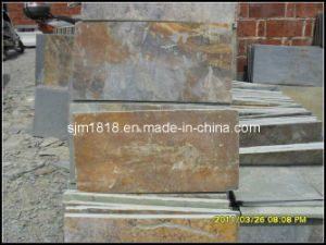 Natural Rustic Stacked Slate Tiles and Slab (SSST-003)