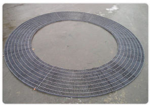 Sector Steel Grating