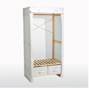 Wooden Wardrobe with Strong Frame