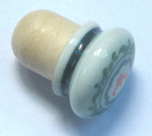 Ceramic Cap Synthetic Cork Wine Stopper Tbce20